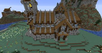 Nordic / Medieval Church (TNE) Minecraft Map & Project