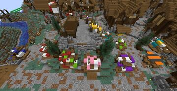 Nordic / Medieval Market Minecraft Map & Project
