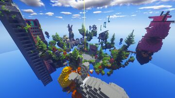 Free Hub Air Structure Minecraft Maps Planet Minecraft Community