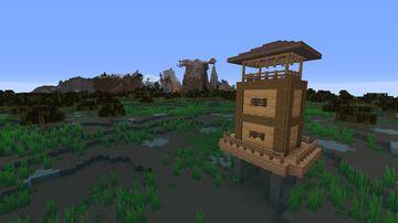 Swamp Hut My Version Minecraft Map & Project