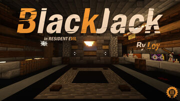 BlackJack in Resident Evil 7 Minecraft Map & Project