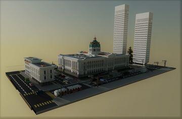 San Francisco City Hall Minecraft Map & Project