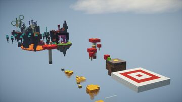 Duo Parkour Minecraft Map & Project