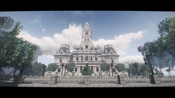 The Royale palece Minecraft Map & Project