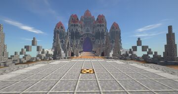 Skycastle with timelapse Minecraft Map & Project
