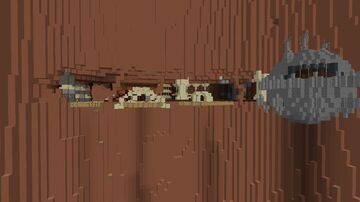 Utapau Star Wars Revenge of the Sith Minecraft Map & Project