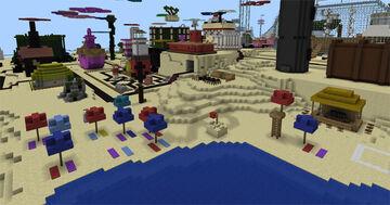 Spongebob bikini bottom Minecraft Map & Project