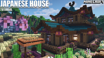 Japanese House + Download 1.16.2 Minecraft Map & Project