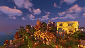 BagelCraft Season 2 - 1.16.4 Map Minecraft Map & Project