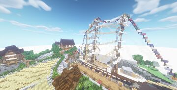 Bouleau - A French Hamlet Minecraft Map & Project