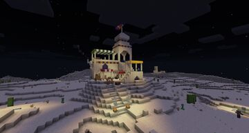 Astacor Outpost - A Desert Themed Build Minecraft Map & Project