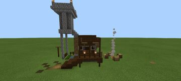 Mediaeval House Minecraft Map & Project