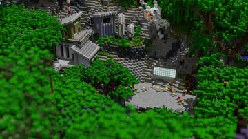 Server Hub - MiningDragon Minecraft Map & Project