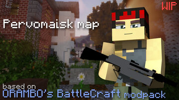 Pervomaisk - PvP map with Guns Minecraft Map & Project