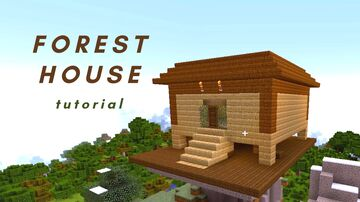 Forest House 1.15.2 [ 2020 ] Minecraft Map & Project
