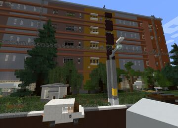 REALISTIC SOVIET APARTMENT PANEL | FULL CUSTOMIZABLE INTERIOR Minecraft Map & Project
