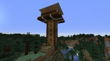 Forrest Watch Tower Minecraft Map & Project