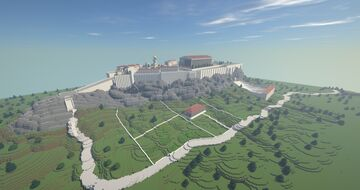 Acropolis in Athens Minecraft Map & Project