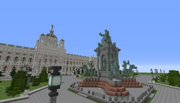 Natural History Museum Vienna Austria Minecraft Map & Project