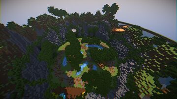 Warp - PvP Minecraft Map & Project