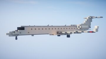1,5:1 Embraer ERJ145 + ERJ145XR + Liveries Minecraft Map & Project