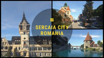Romania Project (Peles castle and city) Minecraft Map & Project