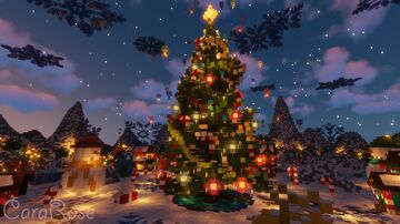🎄 Magic Christmas Town ❄️ Minecraft Map & Project