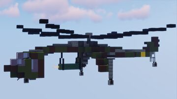 Sikorsky CH-54 Tarhe Minecraft Map & Project