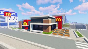 Modern McDonalds (City Build #19) Minecraft Map & Project