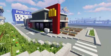 Modern McDonalds (City Build #19) Minecraft Map & Project