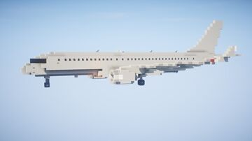 1,5:1 Airbus A220-300 + Liveries (CS300) Minecraft Map & Project