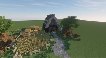 Casa Medieval Minecraft Map & Project