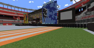Guns N´ Roses concert stage river plate 🇦🇷 1992 Minecraft Map & Project