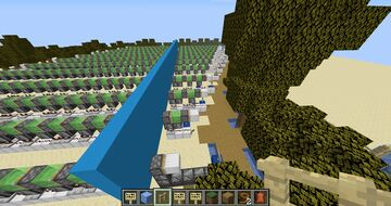 The easiest 1 - 24 piston extenders Minecraft Map & Project