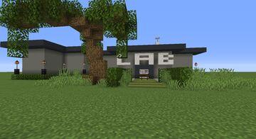 Modern Laboratory Minecraft Map & Project