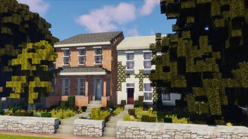 Rundown Town Homes Minecraft Map & Project