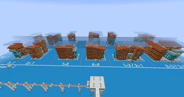 FallenArchangel's Procedural Metropolis Entry Minecraft Map & Project