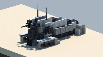 StarWars NR-N99 Persuader-class droid enforcer [With download] Minecraft Map & Project