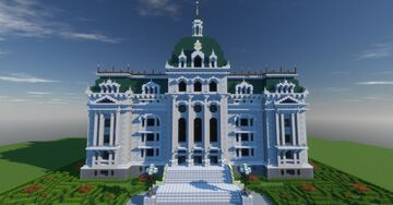 The St. George Royal Academy (with interior) Minecraft Map & Project