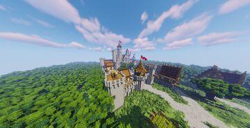 [Read Description] Medieval Castle Minecraft Map & Project