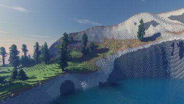 After Unlockdown - World Painter Minecraft Map & Project