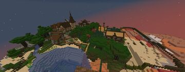New project in 1.16.3 Minecraft Map & Project