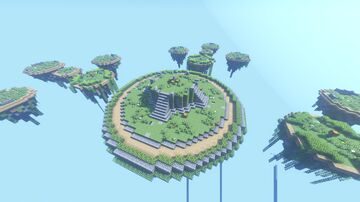 Skywars Map - Temple Forest Minecraft Map & Project