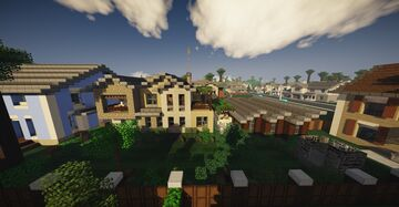 The american dream house Minecraft Map & Project