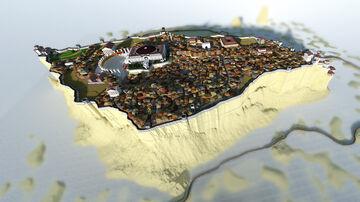 Desert Castle of Masada Minecraft Map & Project