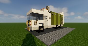 Vehicle : Garbage truck Minecraft Map & Project