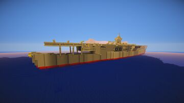 Japanese Aircraft Carrier Minecraft Map & Project