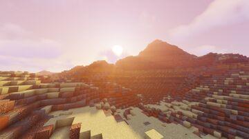 Golden Hills - 1024x1024 Test Worldpainter Map Minecraft Map & Project