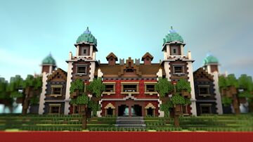 [Spawn] Red & Gray Minecraft Map & Project