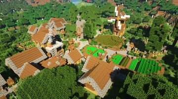 Transformed Minecraft Village Minecraft Map & Project